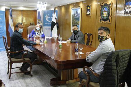 Santa Cruz| Alicia recibió al Sindicato de Luz y Fuerza de la Región Patagónica