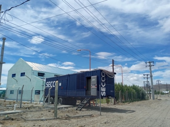Chubut| Provincia informó la llegada del segundo motor a la central térmica