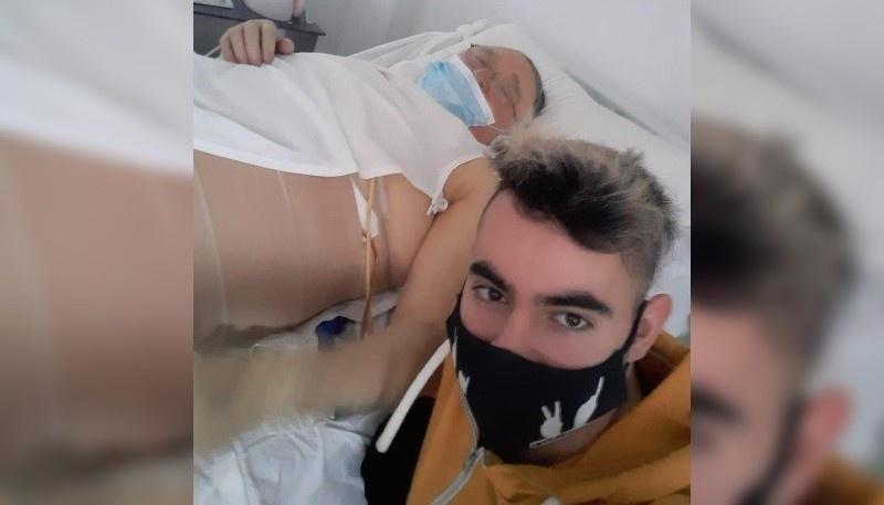 """""""Cada vez está peor y tiene problemas en los pulmones y la temperatura que le sube a cada rato. Mi abuela lo vio y pensó que se iba a morir"""""""