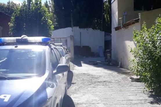 El Calafate| Un detenido prendió fuego el colchón y sufrió quemaduras