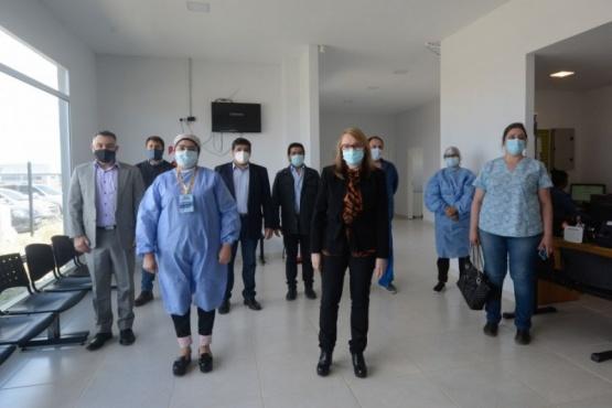 Río Gallegos| Alicia Kirchner recorrió el centro de salud del San Benito