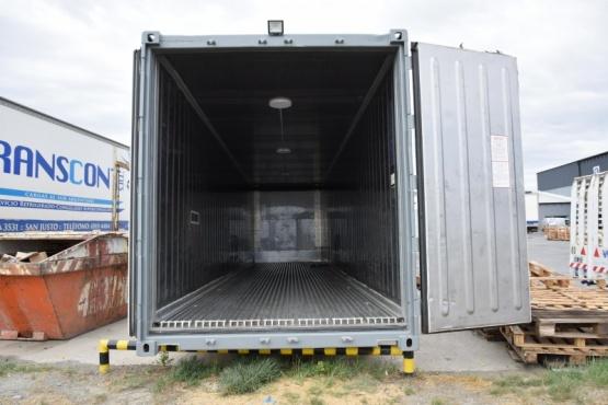 Río Gallegos| El container que recibió el municipio alcanza una refrigeración de -35°C