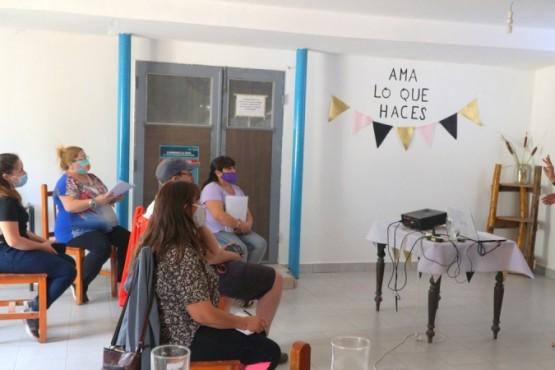 Caleta Olivia| Iniciaron las capacitaciones a productores en la Sala de Elaboración Comunitaria