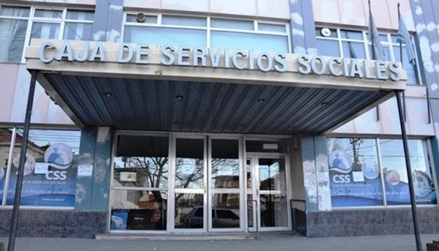 Central de la Caja de Servicios Sociales en Río Gallegos.