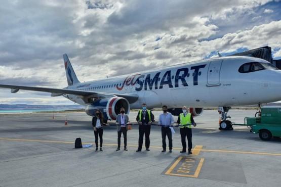 El Calafate suma vuelos con la low cost Jetsmart