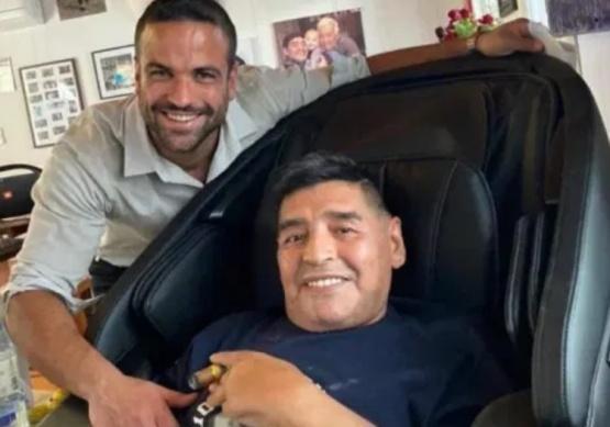 El psicologo y Maradona.