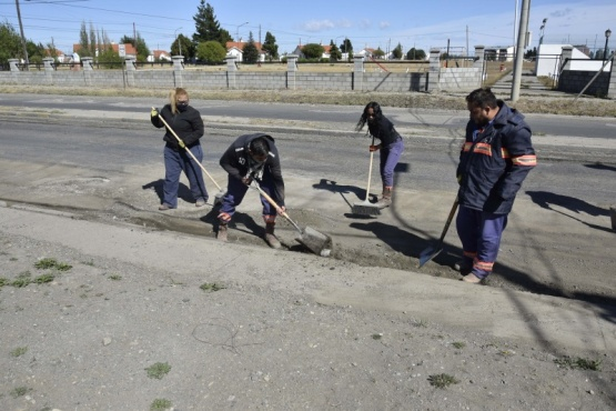 Río Gallegos| Trabajos de mantenimiento y reacondicionamiento