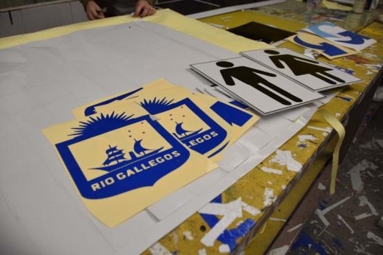 Río Gallegos| Un sector que deja plasmado su trabajo por toda la ciudad