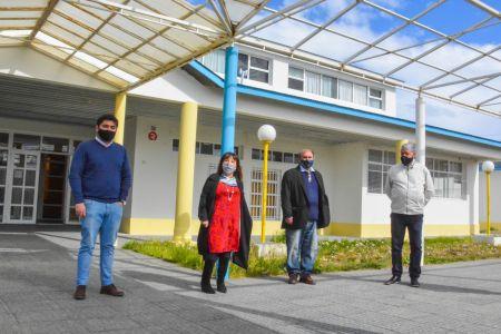 Santa Cruz| Avanza el Plan de Mantenimiento Escolar en la provincia