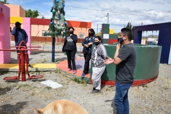 Río Gallegos| Reunión con vecinos del Barrio del Carmen para concretar soluciones