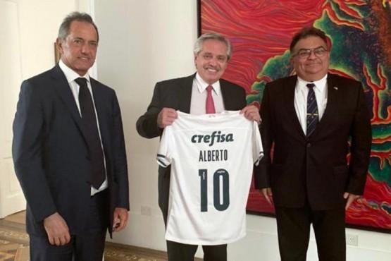 Alberto Fernández recibió a funcionario del gobierno de Brasil