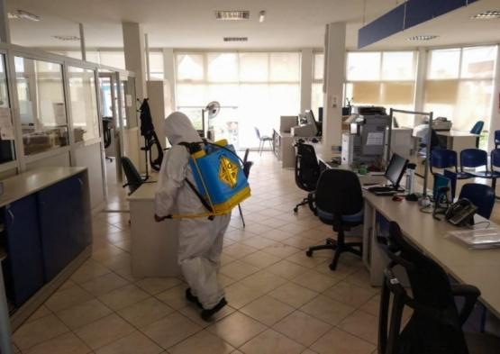 Río Gallegos| Sigue la sanitización de edificios públicos