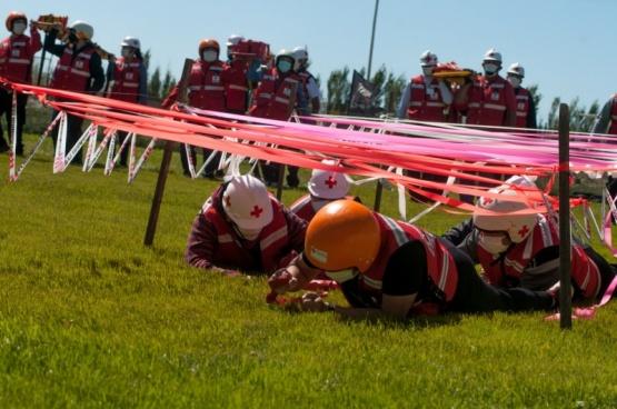 Río Gallegos| La Cruz Roja se entrena ante cualquier eventualidad