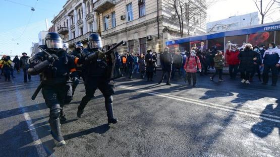 Más de 2.000 personas fueron detenidas en distintas ciudades de Rusia