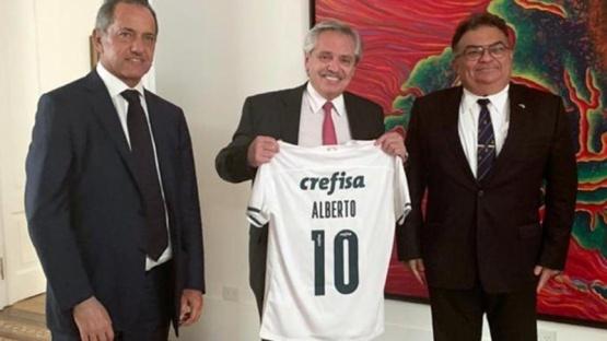 Fernández se reunió con un funcionario de Bolsonaro para fortalecer la relación con Brasil