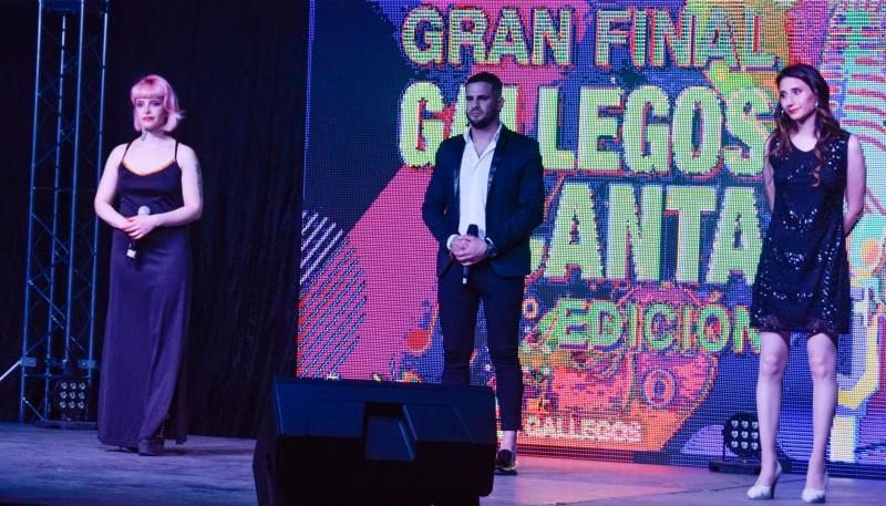 Río Gallegos  Federico, Macarena y Narella brillaron sobre el escenario