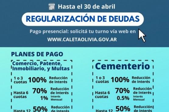 Caleta Olivia| La moratoria de tasas e impuestos estará vigente hasta el 30 de abril