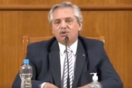 """Alberto Fernández: """"Es necesario un mayor compromiso por parte de los países desarrollados"""""""