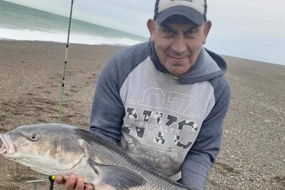 Río Gallegos| Sacó un róbalo de casi 10 kilos en Punta Loyola