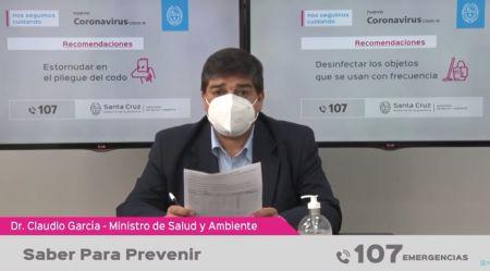 El Ministro de Salud.
