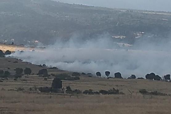 Chubut| Brigadistas trabajan en incendio registrado entre Esquel y Trevelin