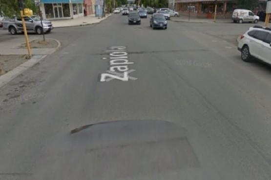 Calle Zapiola al 600.