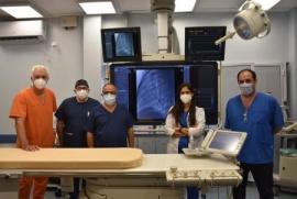 Santa Cruz  Realizaron operación de alta complejidad cardiovascular pediátrica en el Hospital Regional Río Gallegos