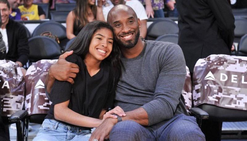 Un año de la muerte de Kobe Bryant y su hija Gianna.
