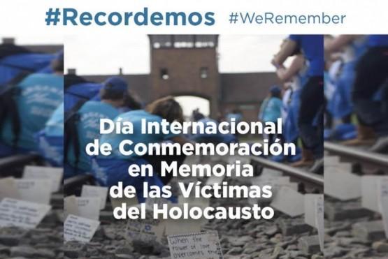 27 de enero día Internacional de Conmemoración del Holocausto