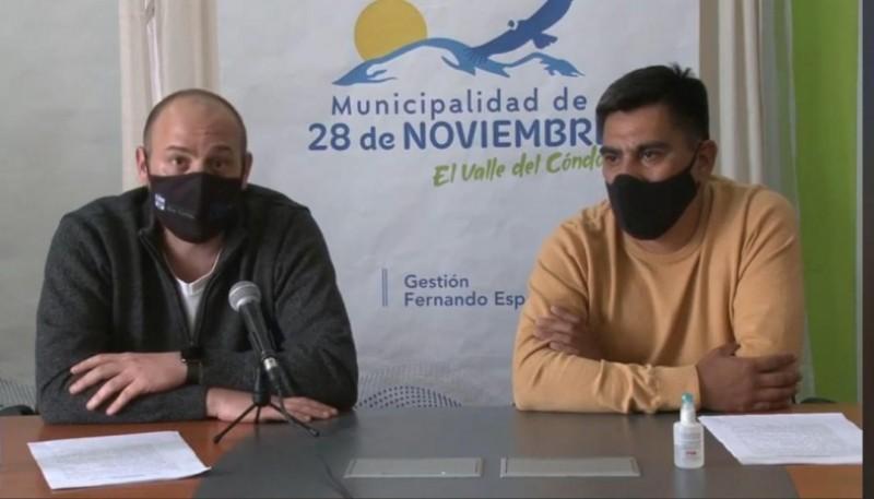Menna y Españón brindaron ayer un informe.