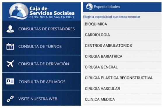 La Caja de Servicios Sociales lanzó una aplicación para teléfonos móviles