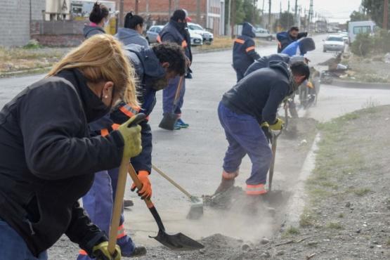 Río Gallegos| Avanzan en el acondicionamiento y puesta en valor de distintos espacios públicos