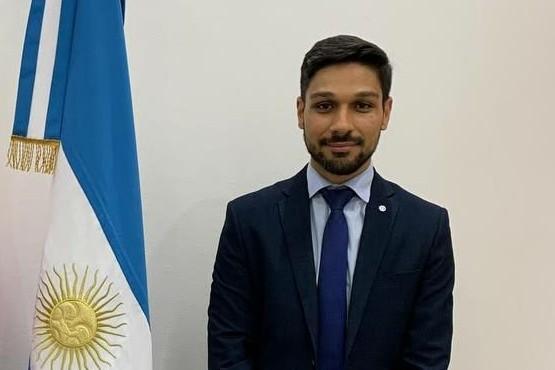 Julián Suárez, director nacional de Coordinación y Fiscalización Pesquera,
