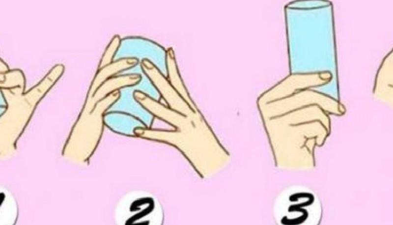 Test psicológico: la forma en que agarras el vaso dice mucho de tu personalidad