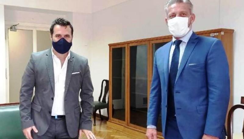 Chubut  Arcioni acordó con Nación avanzar en trabajos conjuntos