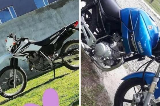 Las motos robadas.