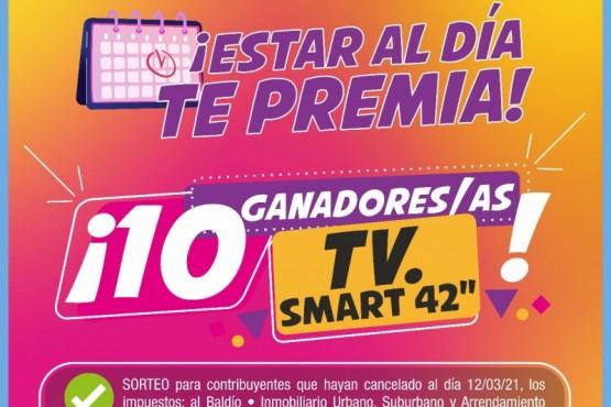 El municipio de Río Gallegos premia a los y las contribuyentes que están al día