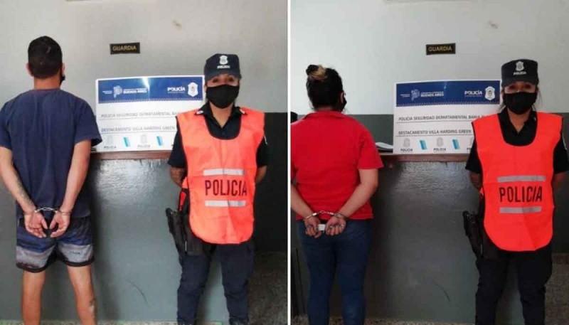 Soto y su pareja fueron detenidos.