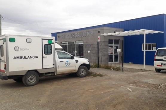 La ambulancia volvió al Centro de Salud Nº9.