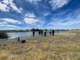 "Avistaje de aves a cargo del COA en la Laguna ""Maria La Gorda"""