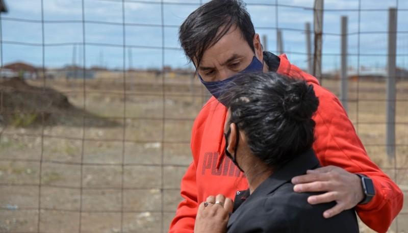 Pablo Grasso recibió inquietudes de junta vecinal en el Barrio Bicentenario