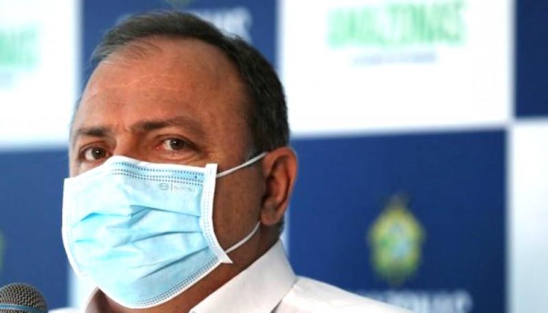 El ministro Pazuello, el pasado martes en Manaos.
