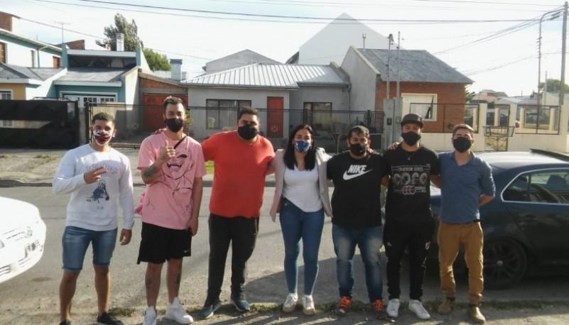 Concierto al aire libre de la Zariband en Río Gallegos