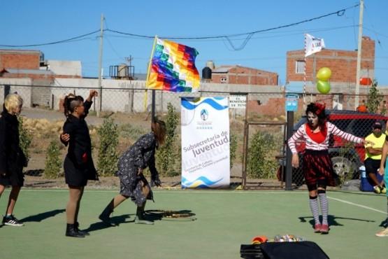 Gran fin de semana con el circo Sur-Sur en dos barrios de Caleta Olivia