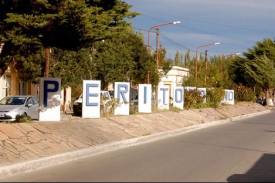 Localidad de Perito Moreno.