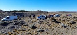 Amplio despliegue del personal de seguridad para la búsqueda de Mario Curin