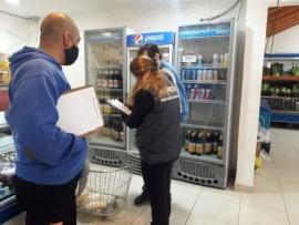 Concretan controles a comercios y supermercados en El Calafate y El Chaltén