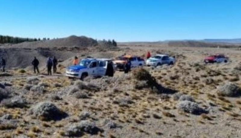Luego de días de rastrillaje, personal de las fuerzas de seguridad detectaron el cuerpo.