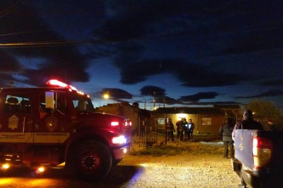 Incendio en el San Benito