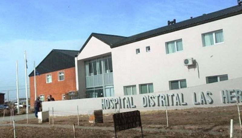 El hombre permanece internado en el Hospital de Las Heras.